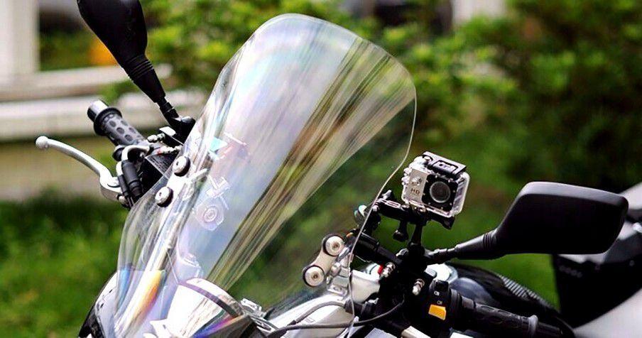 Câmera Filmadora Prova De  Água Capacete Bicicleta