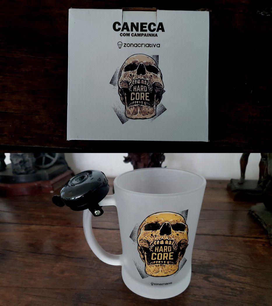 Caneca  Com Campainha 650ml Hard Core