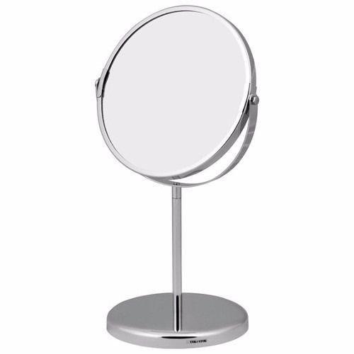 Espelho Maquiagem Aumento Dupla Face 5x