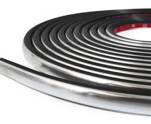 Friso aplique Monza Sle/ Classic Rolo 10 Metros Silvatrim