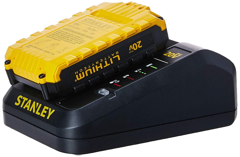 """Furadeira Parafusadeira de impacto 1/2"""" à bateria 20 volts com 2 baterias - SCH20C2K - Stanley"""