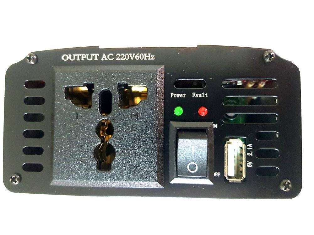 Inversor De Energia 500w Transformador Conversor 12v P/220v