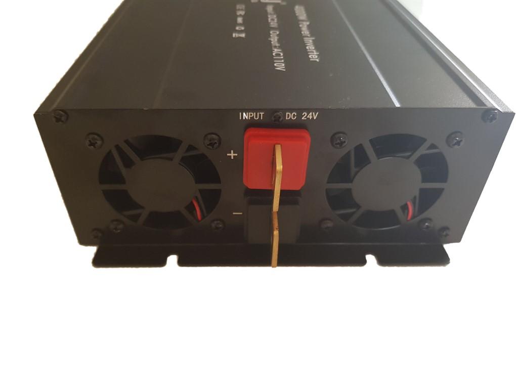 Inversor Onda modificada Tensão 4000w 24v Para 110v 60hz