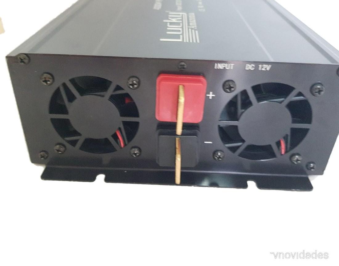 Inversor Tensão Veicular 4000w 12v Para 220v 60hz