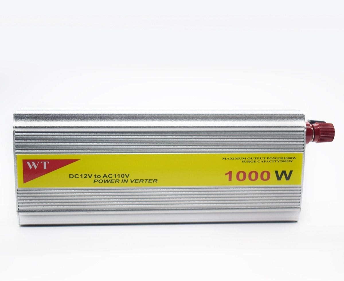 Inversor Veicular Onda modificada 1000w 12v 110v Usb