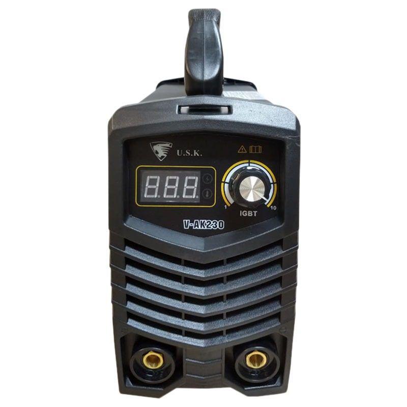 Máquina Inversora De Solda Elétrica Vak 230 Usk 220v Igbt Mma