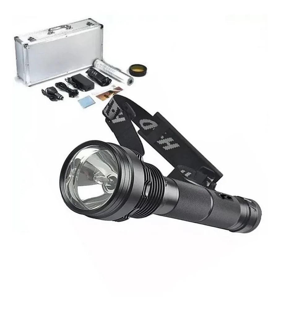 Kit 2 Lanterna Tática Xenon 85 Watts 8500 Lúmens Longo Alcance