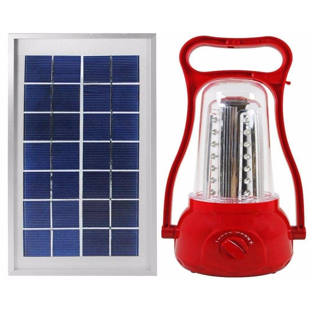 Lampião Solar Recarregável
