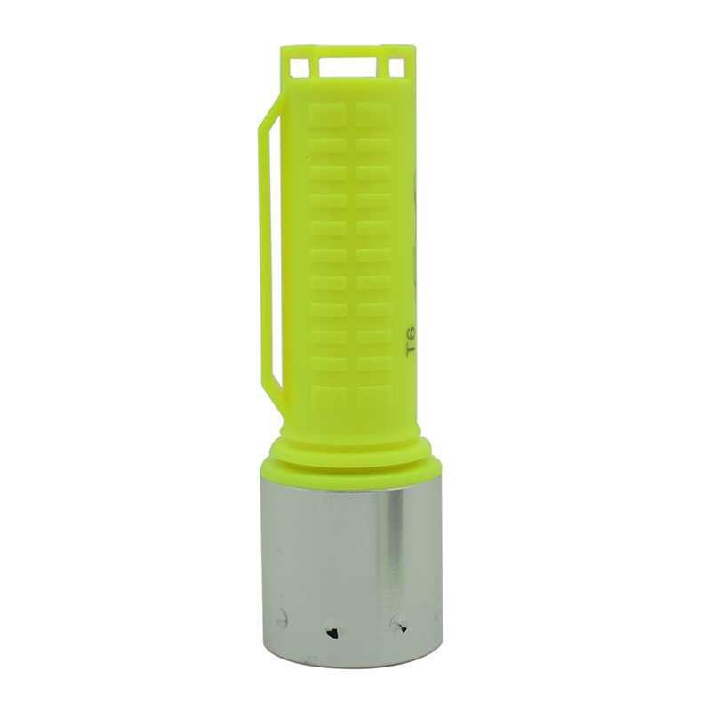 Lanterna de Mergulho recarregavel led cree T6