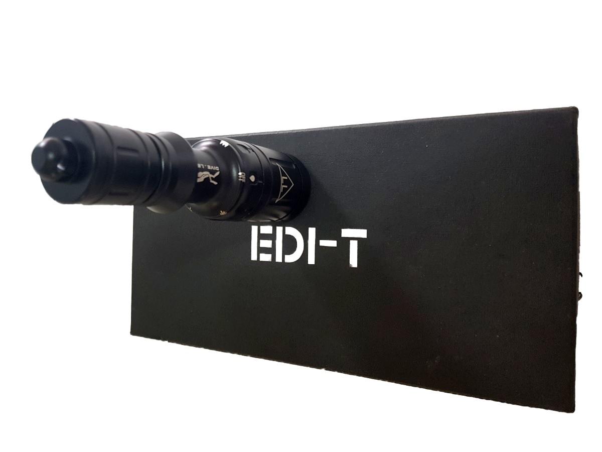 Lanterna EDI-T D4 Mergulho Recarregável Kit Completo