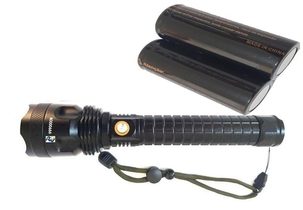 Lanterna Led Cree T9 Tática Sere Ouro Potente mais Canivete