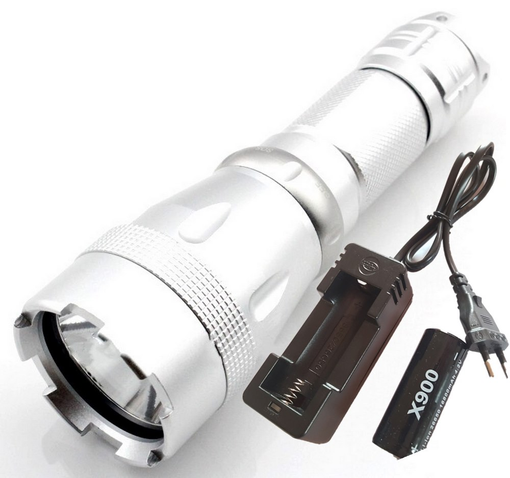 Lanterna Mergulho Profissional Led L2 Mais Super Forte