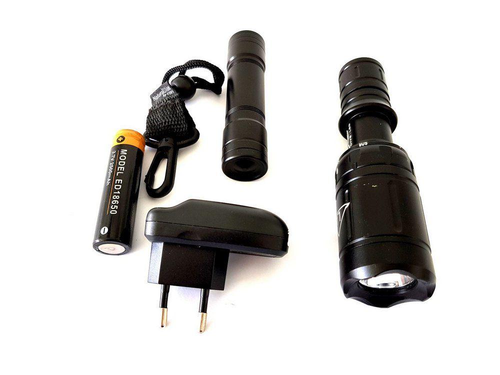Lanterna Mergulho Recarregável EDI-T D4