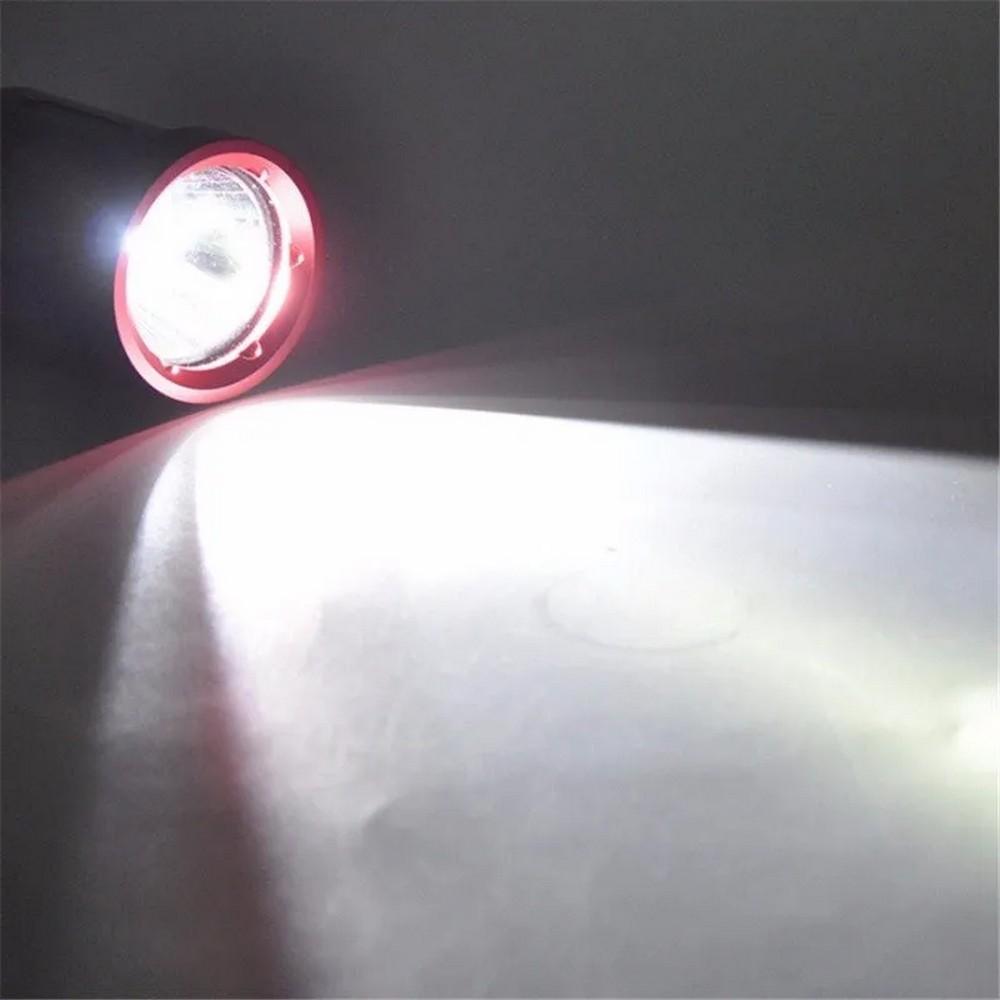 Lanterna Mergulho recarregável profissional 100 Metros Led Xm-l2