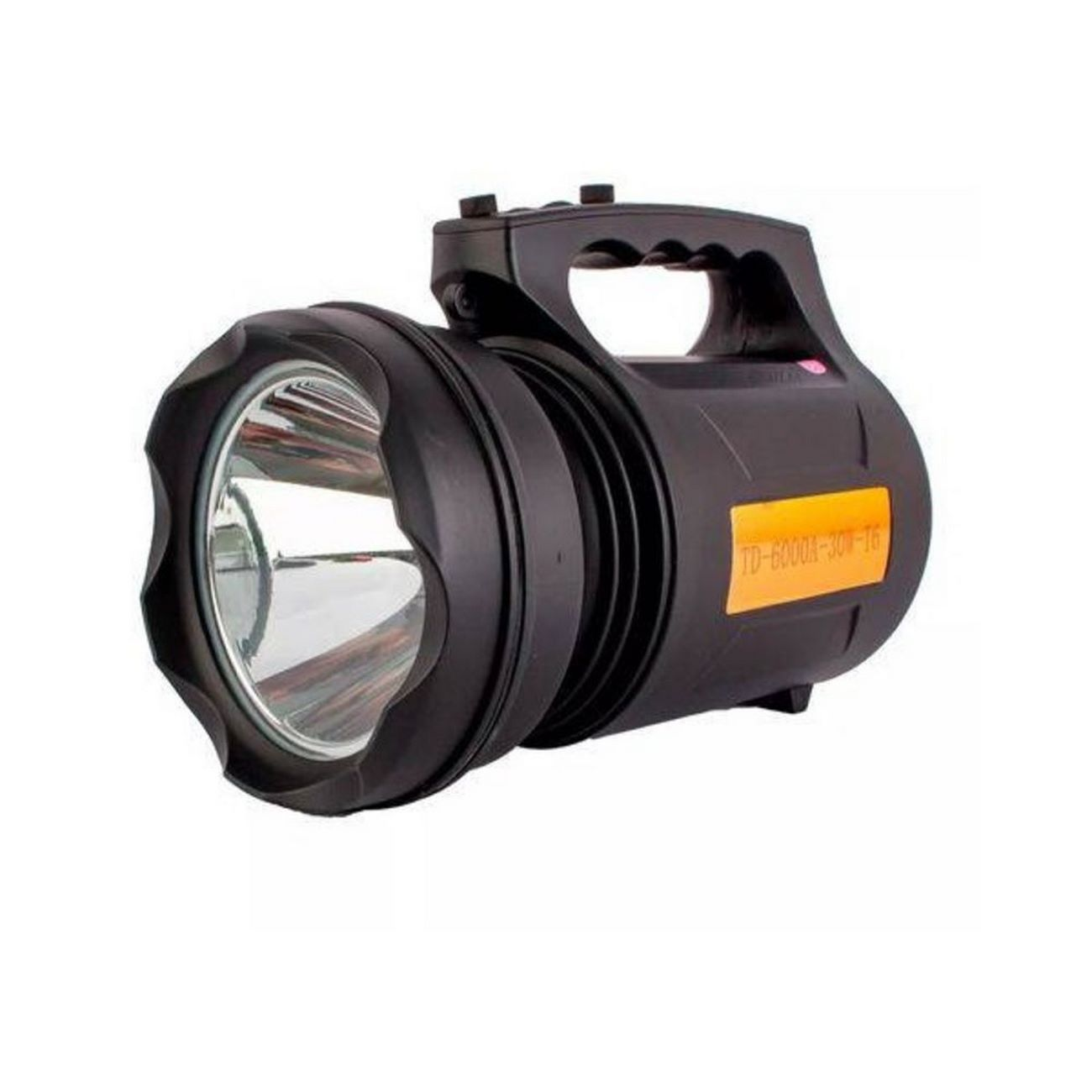 Lanterna Recarregável Holofote Potente Td 6000a 30w T6 Forte