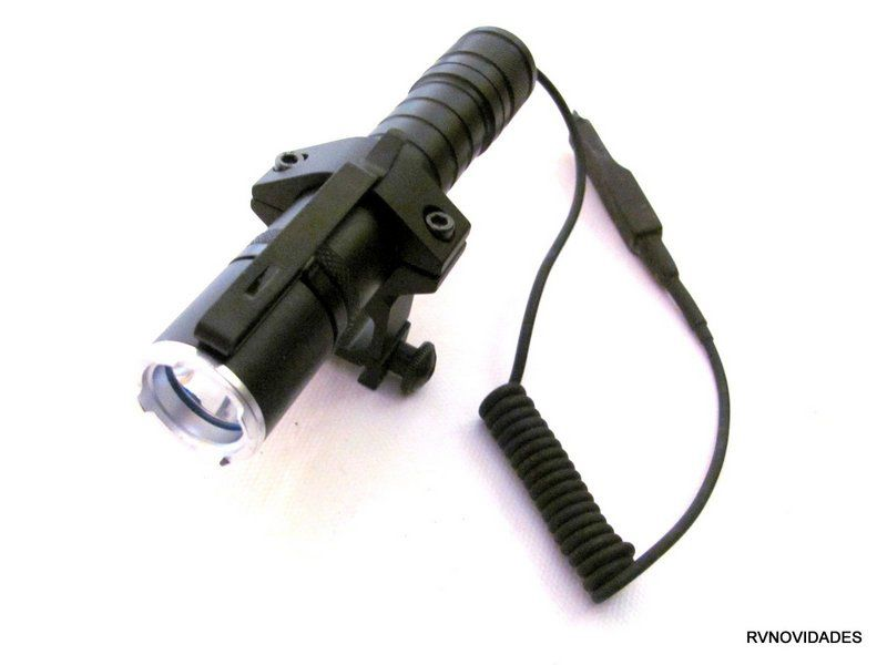 Lanterna Tática Com Acionador Remoto Led Q5