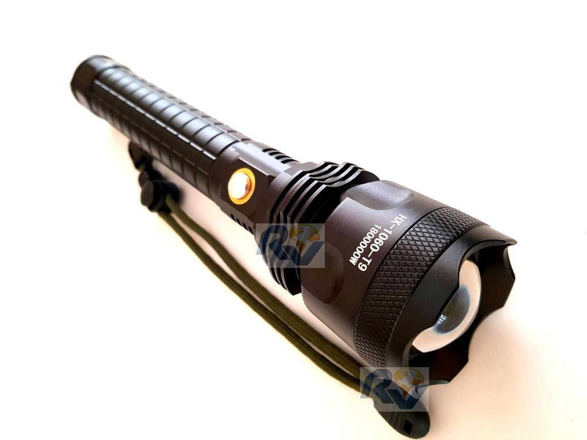 Lanterna Tática Led Cree Xml-t9 Super Potente