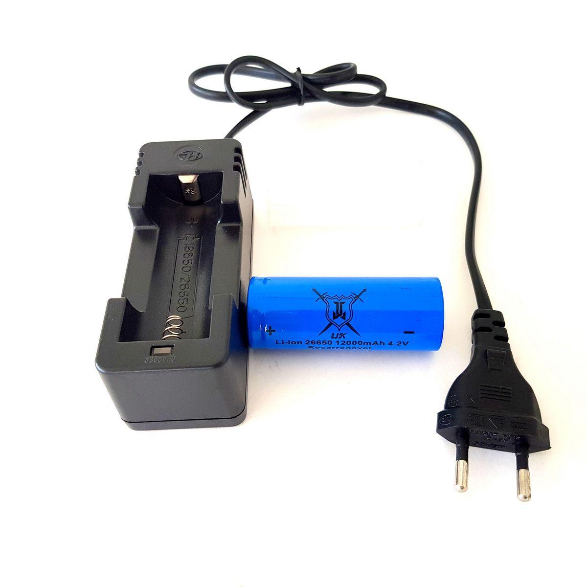 Lanterna Tática Ultra Potente Led Cree L2 Recarregável