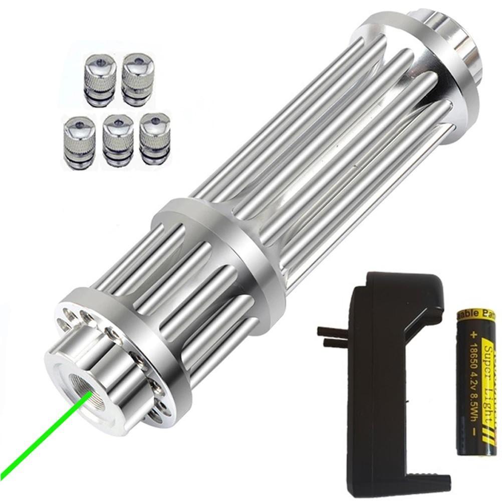 Lanterna Laser Pointer Green Verde 532nm Faixa Laser 2000m