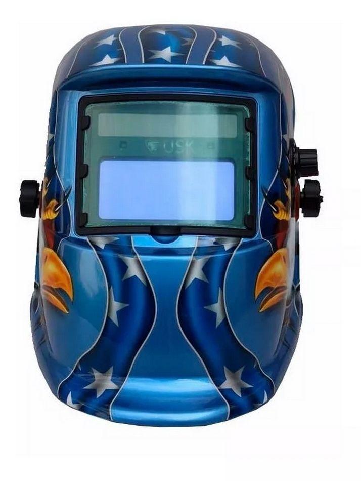 Mascara Solda Eletrônica Automática Auto Escurecimento Usk