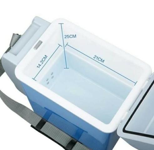 Mini Geladeira Cooler Marca Cooling 7,5 Litros Trivolt