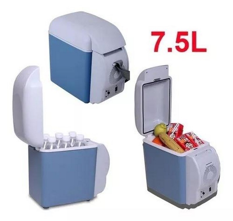 Mini Geladeira Cooler Veicular 2em1 Só Esfria E Aquece 7,5l