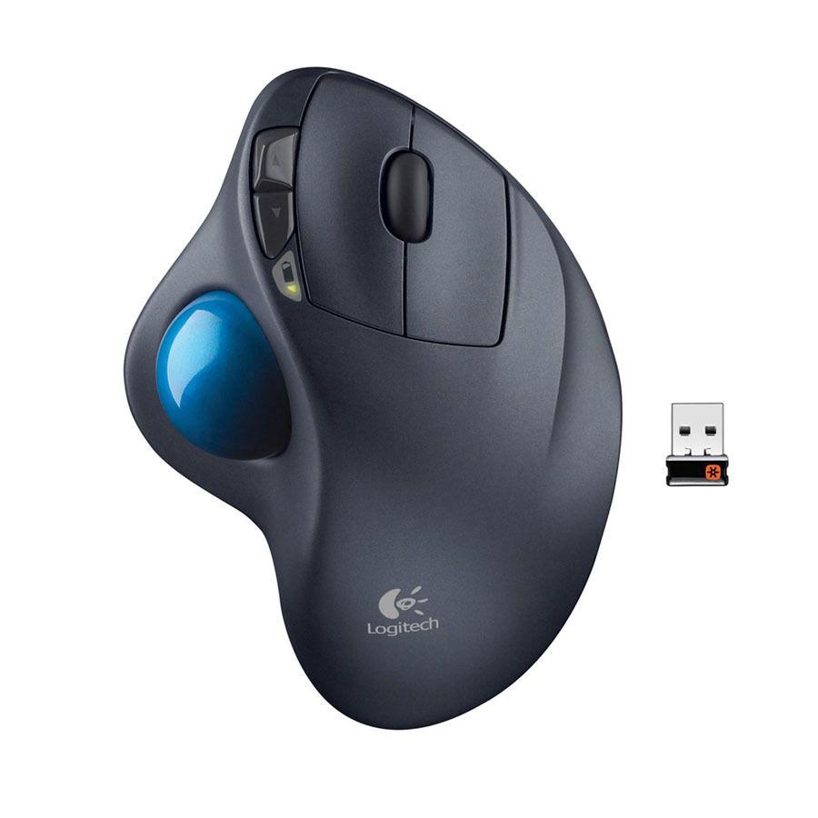 Mouse Laser M570 Trackball Sem Fio 2.4ghz Logitech