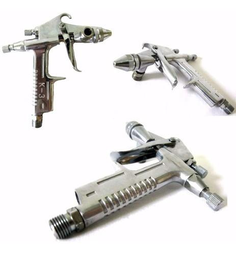 Pistola Pintura Gravidade Bico 0.5 Entrada De Ar 1/4 125 Ml
