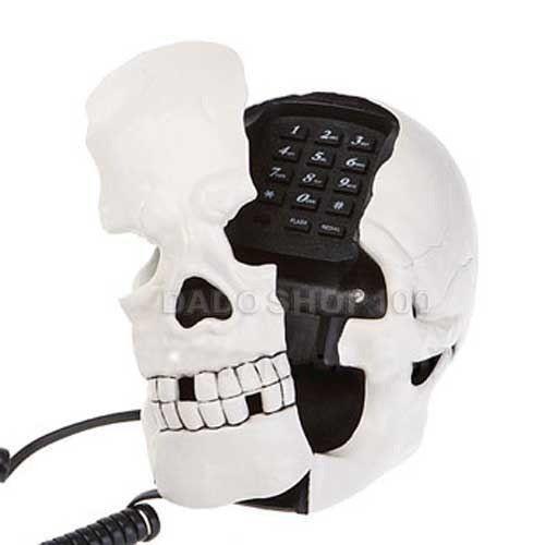 Telefone Caveira  Decoração Aparelho