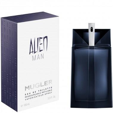 Alien Man Refillable Mugler - Perfume masculino Eau de Toilette 100ml
