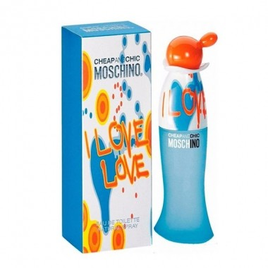 I Love Love Cheap & Chic Moschino - Perfume Feminino Eau de Toilette 30ml