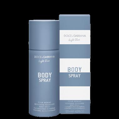 Light Blue Pour Homme Dolce & Gabbana - Body Spray Masculino 125ml