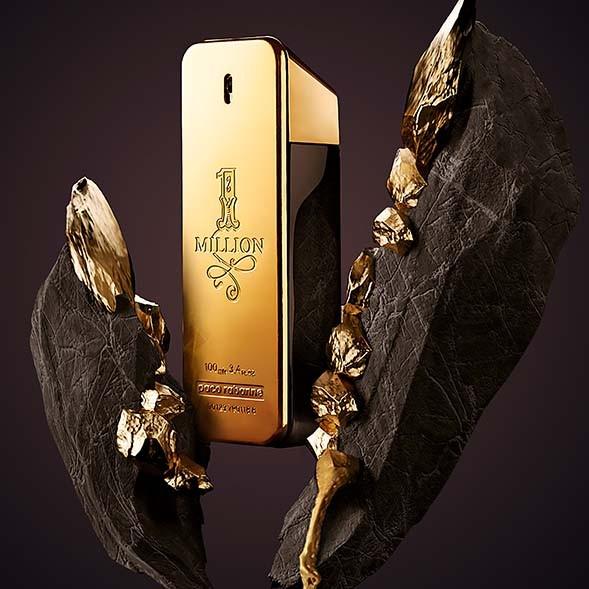 1 Million Paco Rabanne - Perfume masculino Eau de Toilette 50ml