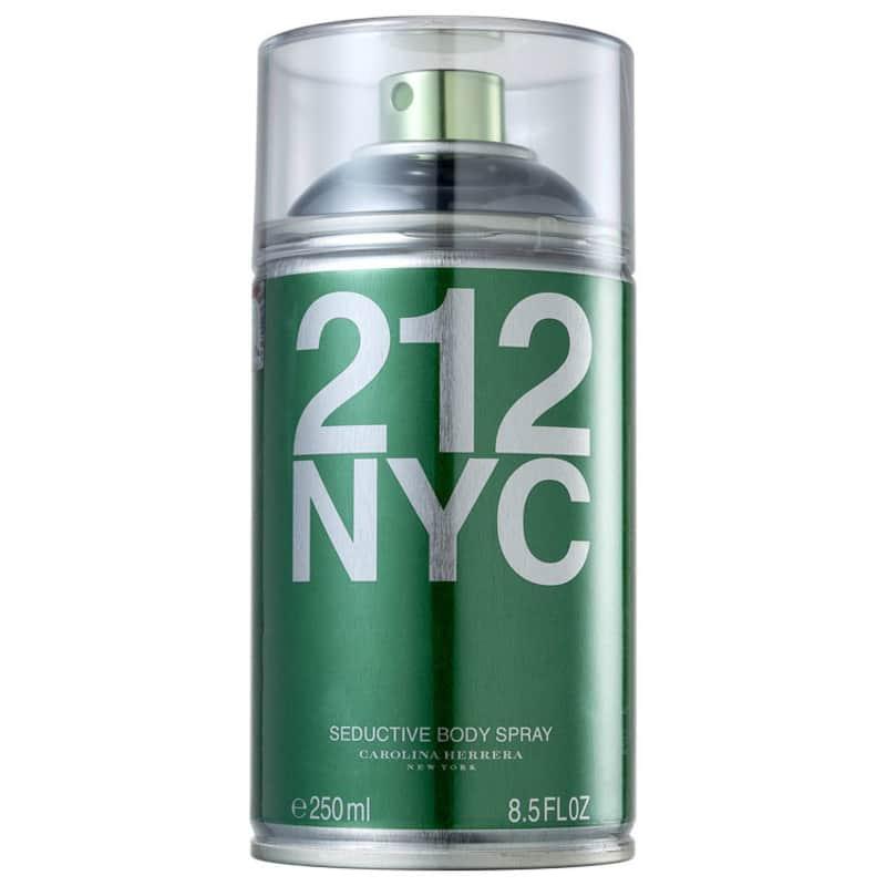 212 NYC Carolina Herrera Feminino 250ml + Acqua di Gioia Feminino edp 30ml
