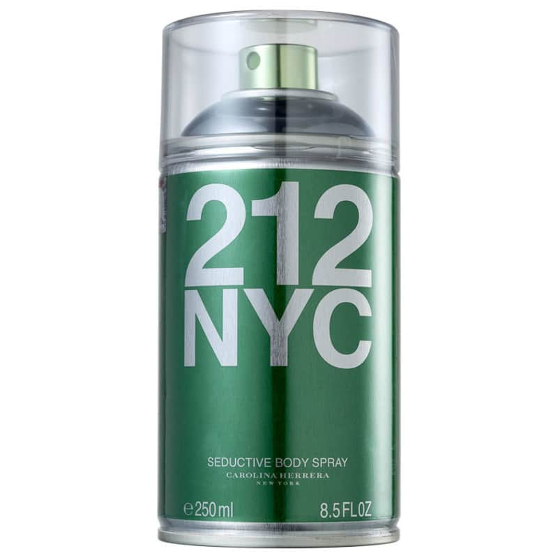 212 NYC Carolina Herrera Feminino 250ml + Black Opium YSL 30ml