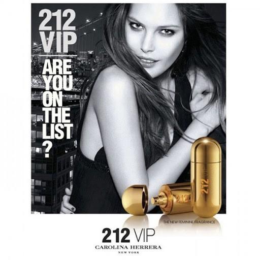212 Vip Carolina Herrera - Eau de Parfum Feminino 125ml