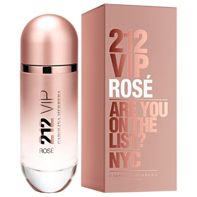 212 VIP Rosé Carolina Herrera - Perfume Eau de Parfum Feminino 80ml
