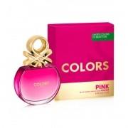 Colors Pink Benetton Eau de Toilette - Perfume Feminino 80ml