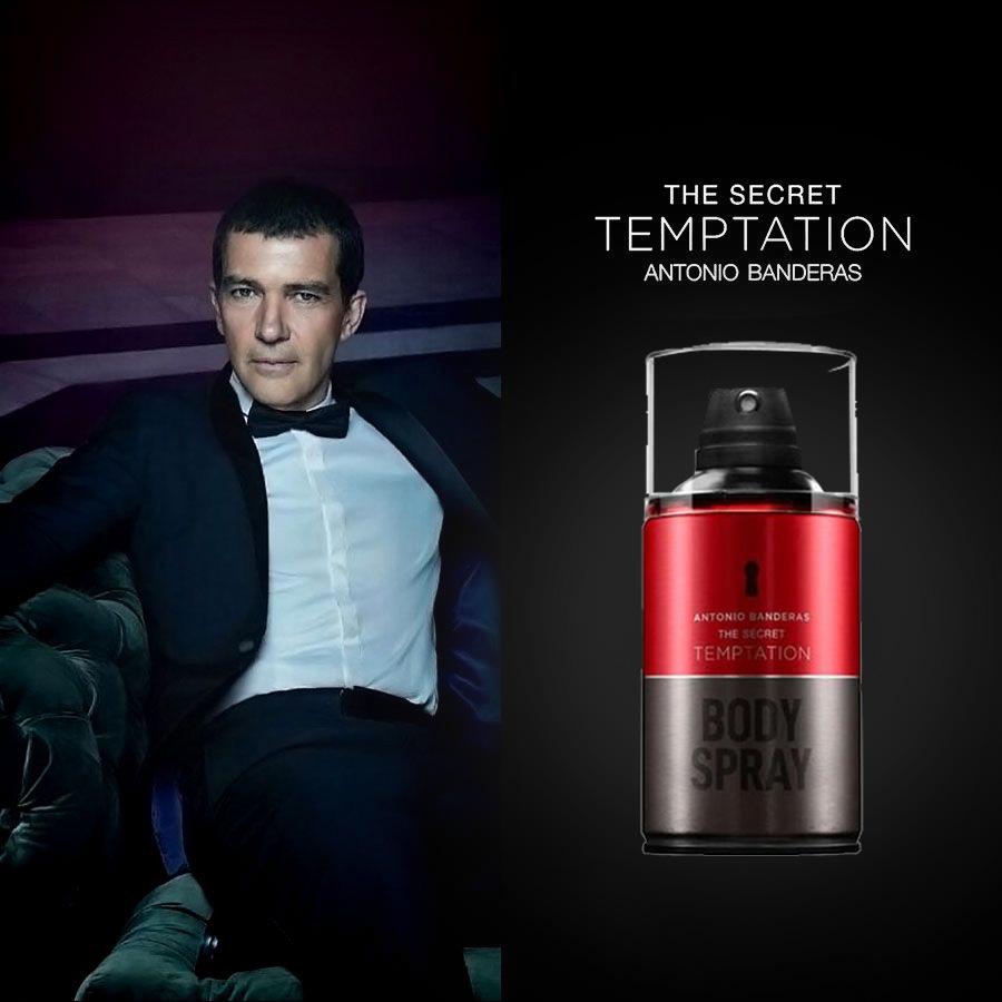 Antonio Banderas The Secret Temptation - Body Spray 250ml