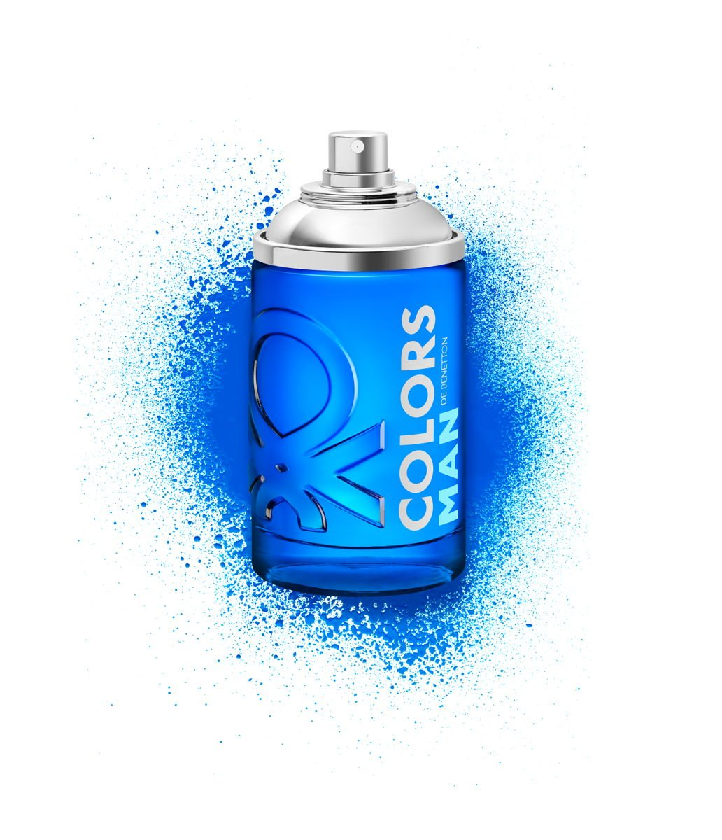 Colors Man Blue Benetton - Perfume Masculino Eau de Toilette 100ml