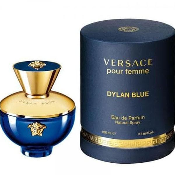 Dylan Blue Pour Femme Versace - Perfume Eau de Parfum Feminino 100ml