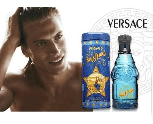 Blue Jeans Versace - Perfume Eau de Toilette Masculino 75ml