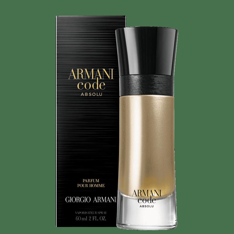 Code Absolu Giorgio Armani - Perfume Masculino Parfum 60ml
