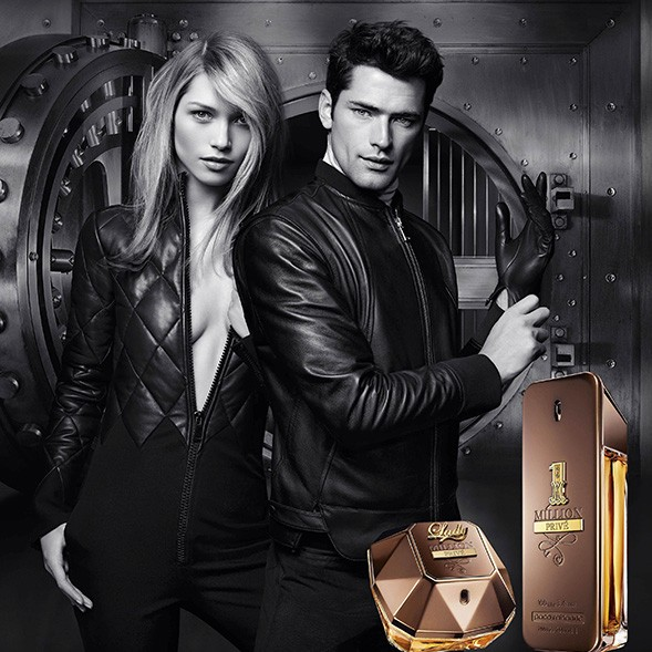 Lady Million Privé Paco Rabanne - Perfume feminino Eau de Parfum 80ml