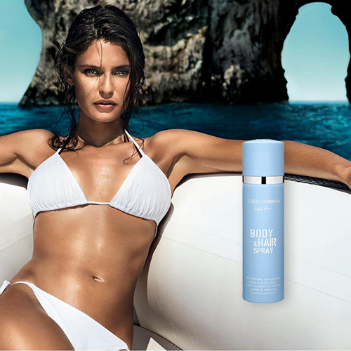 Light Blue Dolce & Gabbana - Perfume feminino para cabelos e corpo 100ml
