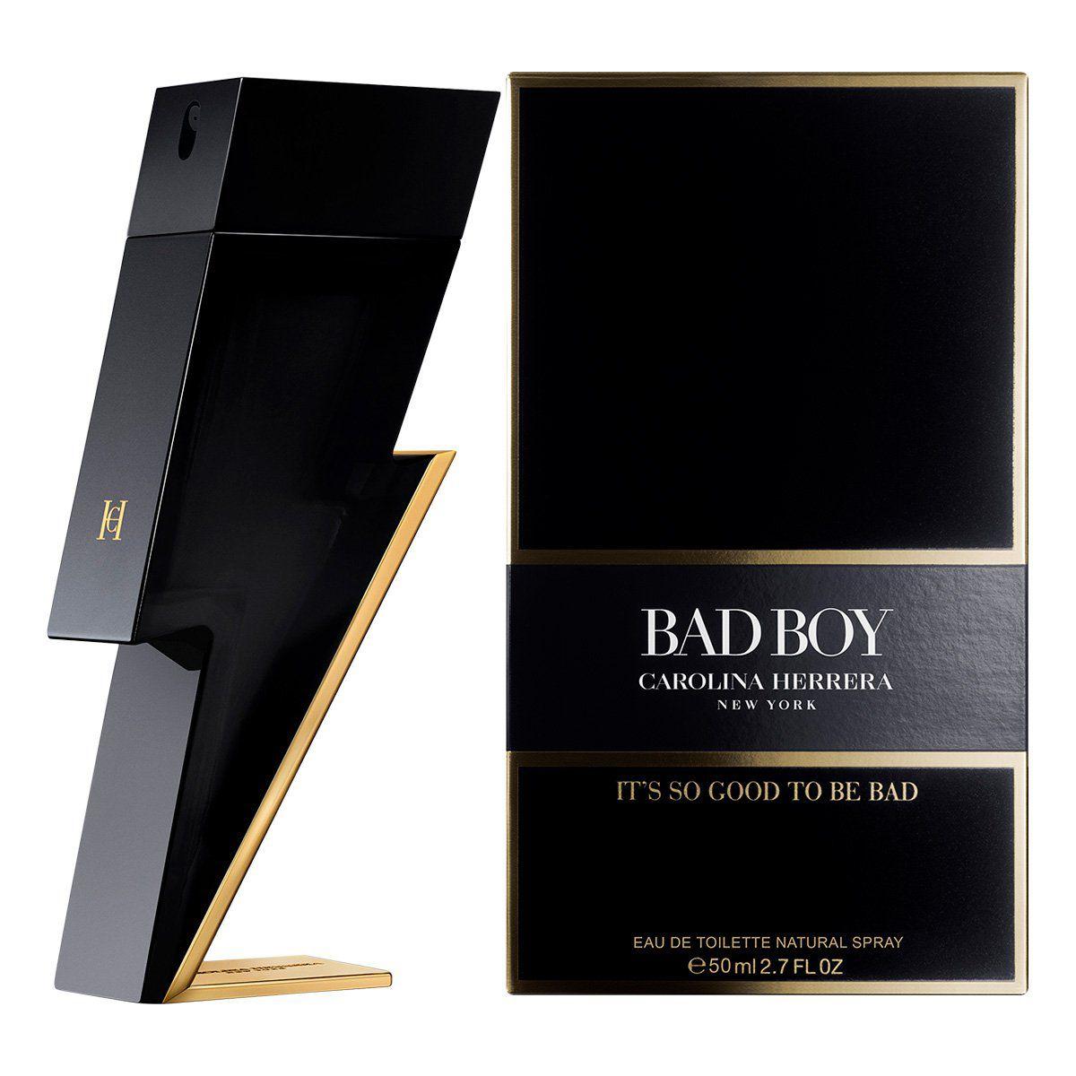 Bad Boy Carolina Herrera - Perfume Masculino Eau de Toilette 100ml