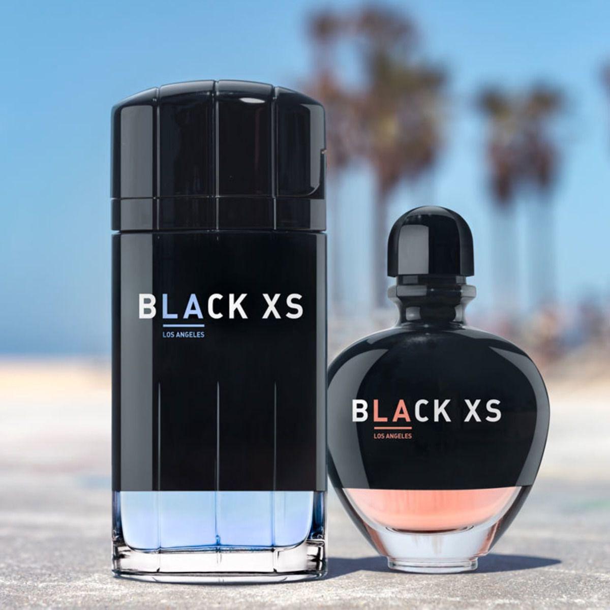 Black XS Los Angeles for Her Paco Rabanne -  Eau de Toilette Feminino 50ml