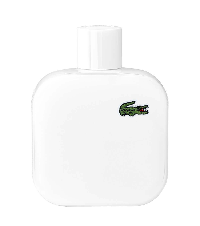 Perfume Eau De Lacoste L.12.12 Blanc - Pure Eau De Toilette Masculino 50ml