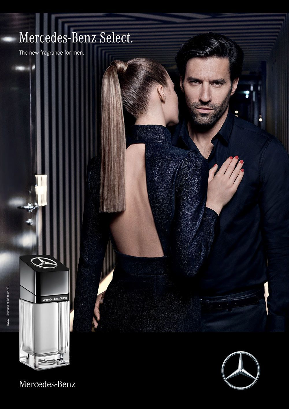 Perfume masc. Mercedes-Benz Select 40ml edt