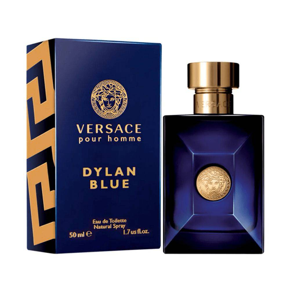 Dylan Blue Versace - Perfume Masculino Eau De Toilette 50ml
